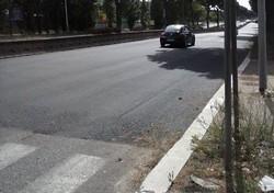 Toppa Via Costantino - Incidente1