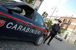 Carabinieri auto repertorio