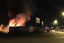 Incendio via Magliana 13.1.16 4-2