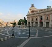 Piazza del Campidoglio Roma repertorio