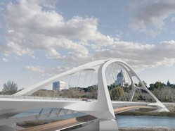 ponte dei congressi rendering