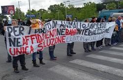 lavoratori muratella manifestazione aprile 2016