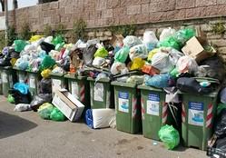 rifiuti municipio ix via baino cdq cinque colline