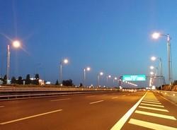Illuminazione-A90-Roma-Fiumicino