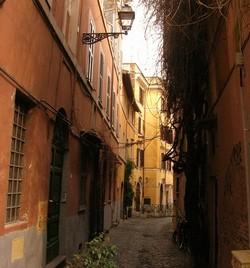 Trastevere - Vicolo del Bologna