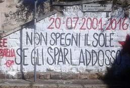 murale carlo giuliani garbatella