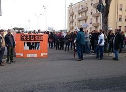 manifestazione bus cecchignola