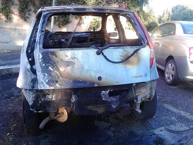Roma, arrestato un piromane di 32 anni Stava tentando di appiccare un incendio