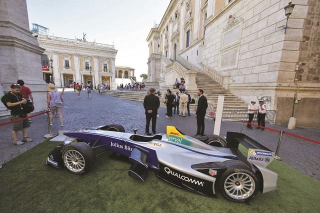 FormulaE: presentato l'ePrix di Roma!
