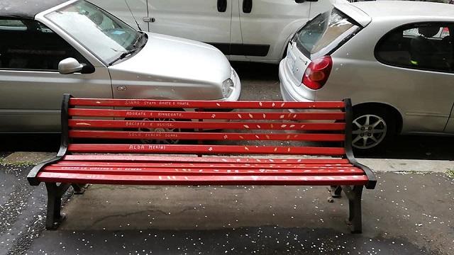 panchina rossa musco
